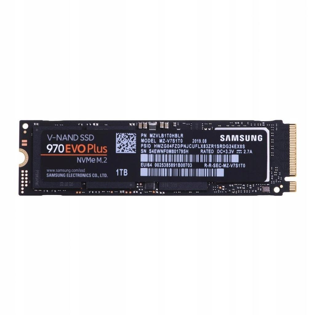 Dysk Samsung 970 EVO Plus MZ-V7S1T0BW (1 TB ; M.2;