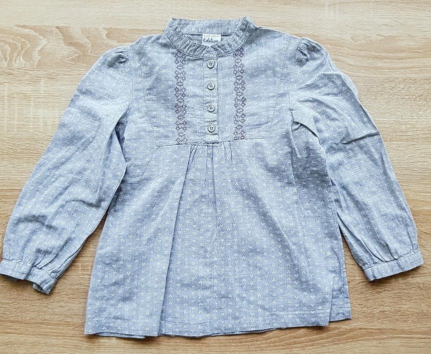 Elegancka szara koszula COCCODRILLO 6 L 120 CM