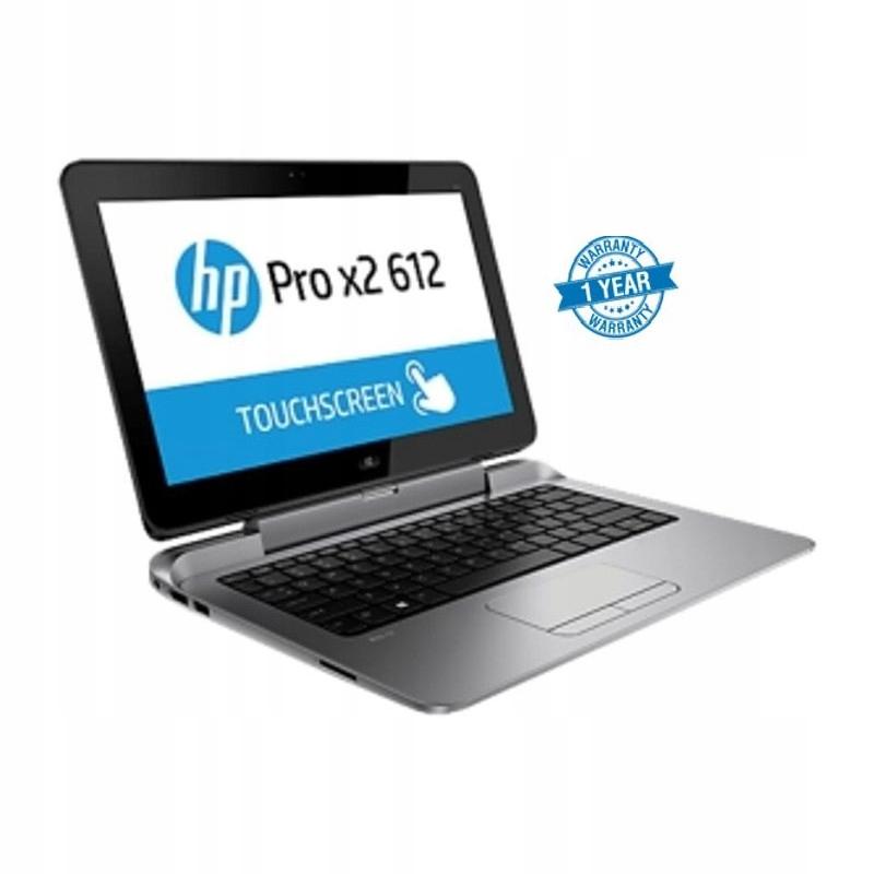 2w1 HP Pro X2 612 G1 i5 4 512SSD KAM W10p + KLAWA
