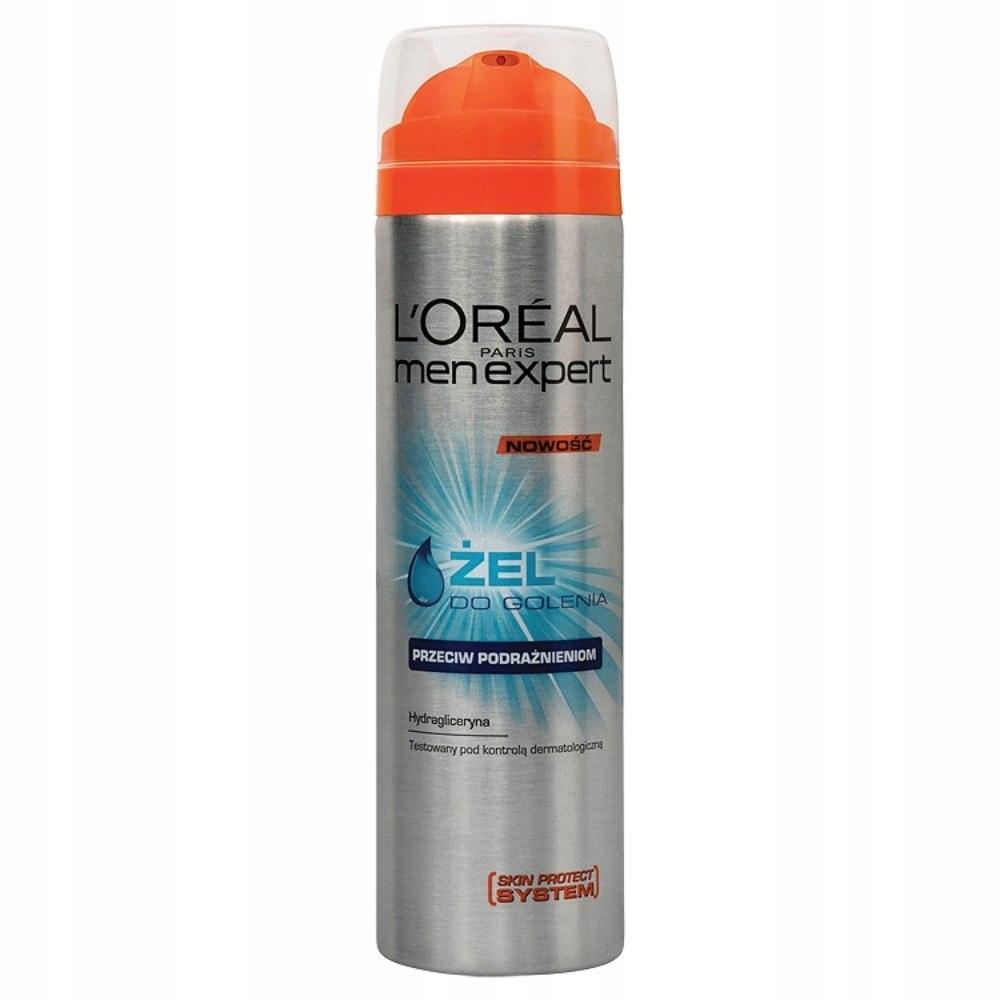 Loreal Men Expert Żel do golenia przeciw podrażnie