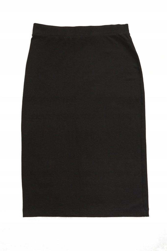 H&M spódnica ołówkowa dresowa midi 36/38