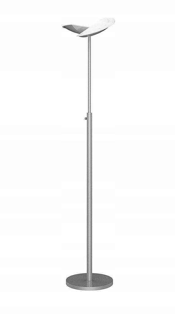 Lampa podłogowa UNILUX Zelux LED srebrna 40W 180cm