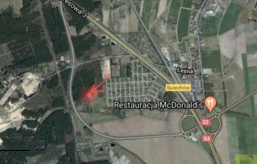 Działka, Sulechów, Sulechów (gm.), 1100 m²