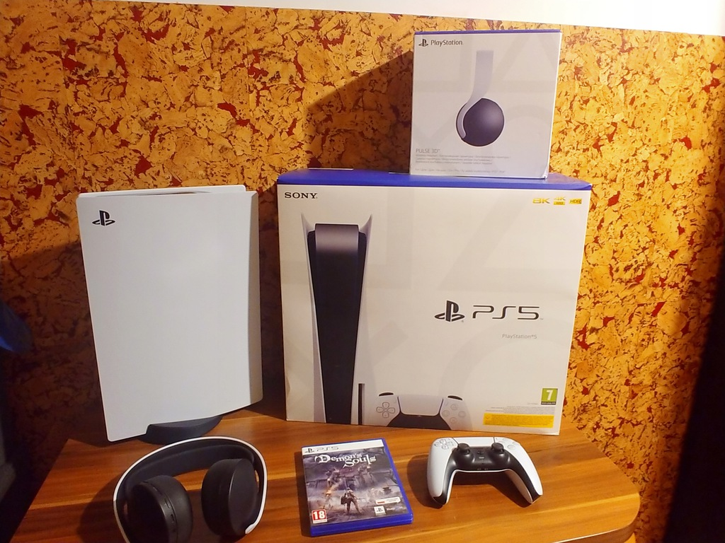 PlayStation 5 Pulse 3D Demon Souls Gwarancja