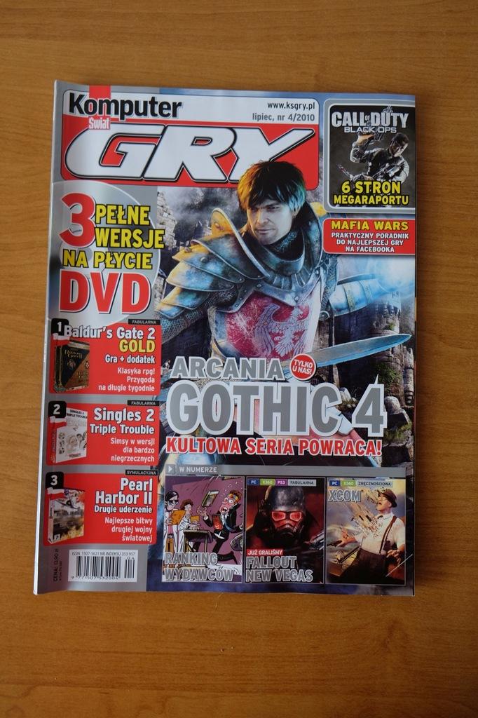 Komputer Świat Gry 4/2010 // Gothic Fallout