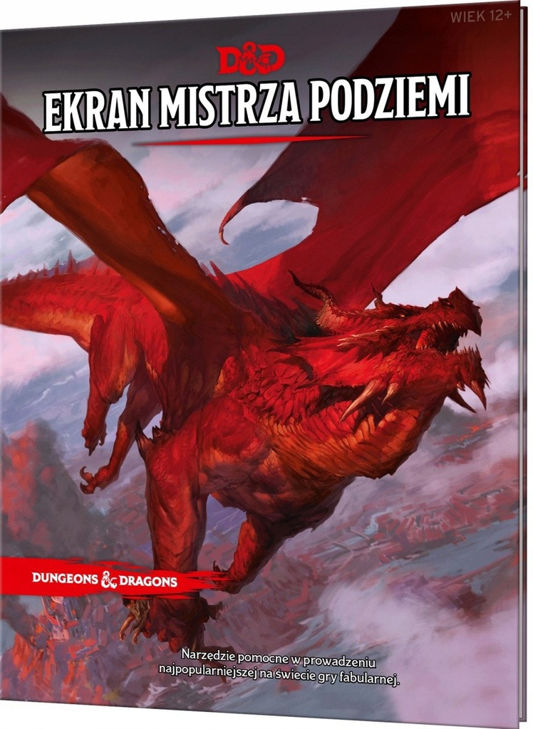 Podręcznik Dungeons&Dragons: Ekran Mistrza Pod