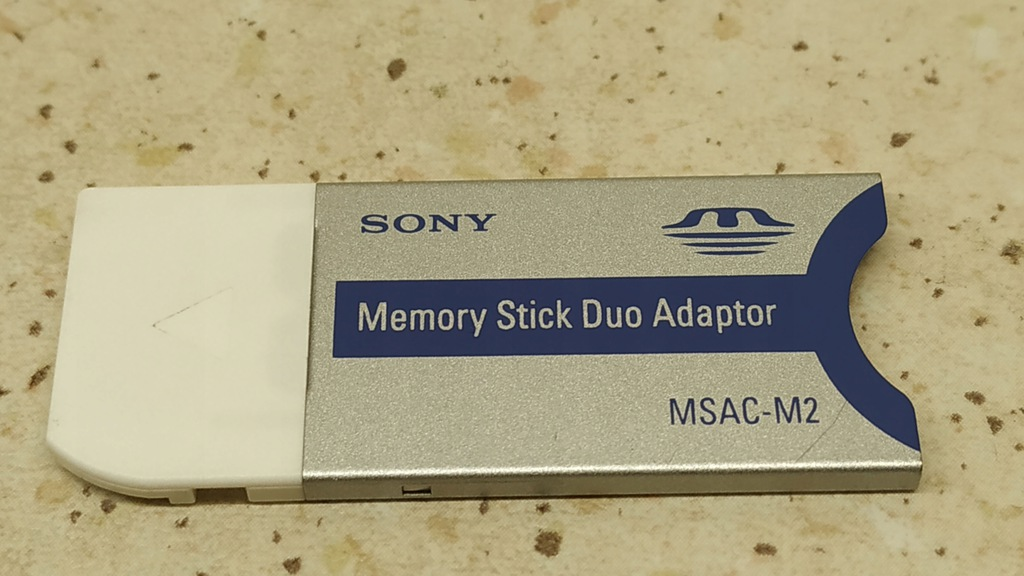 Sony Memory Stick Duo Adaptor MSAC - M2