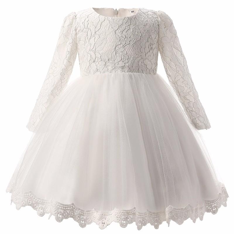 Elegancka sukienka chrzest ślub 2 kolory 0-3 mc