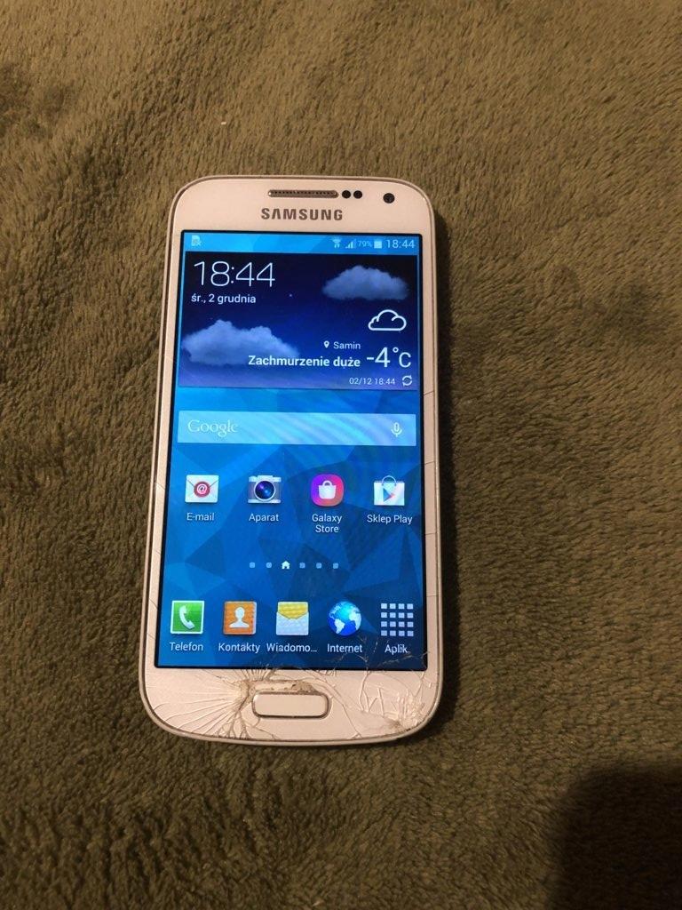 Smartfon Samsung Galaxy S4 Mini Bialy 9984345822 Oficjalne Archiwum Allegro