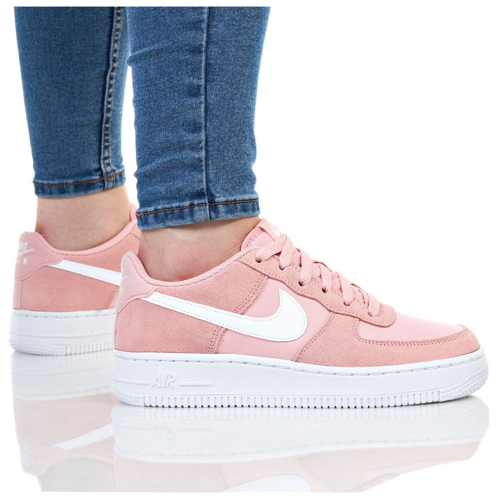 NIKE WMNS AIR FORCE 1 LOW LIGHT LOW (487643201) Damskie
