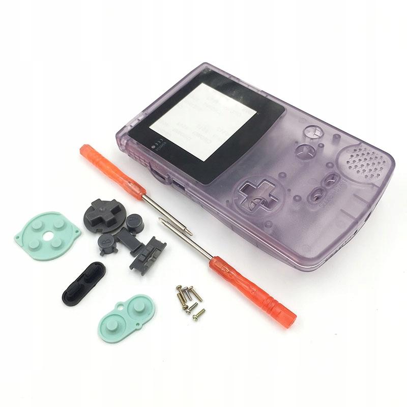 Zestaw zamienny Game Boy color - obudowa, guziki