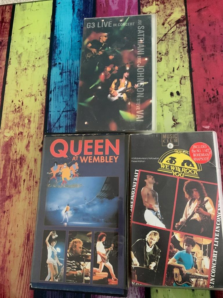 Zestaw muzyczny Queen i nie tylko