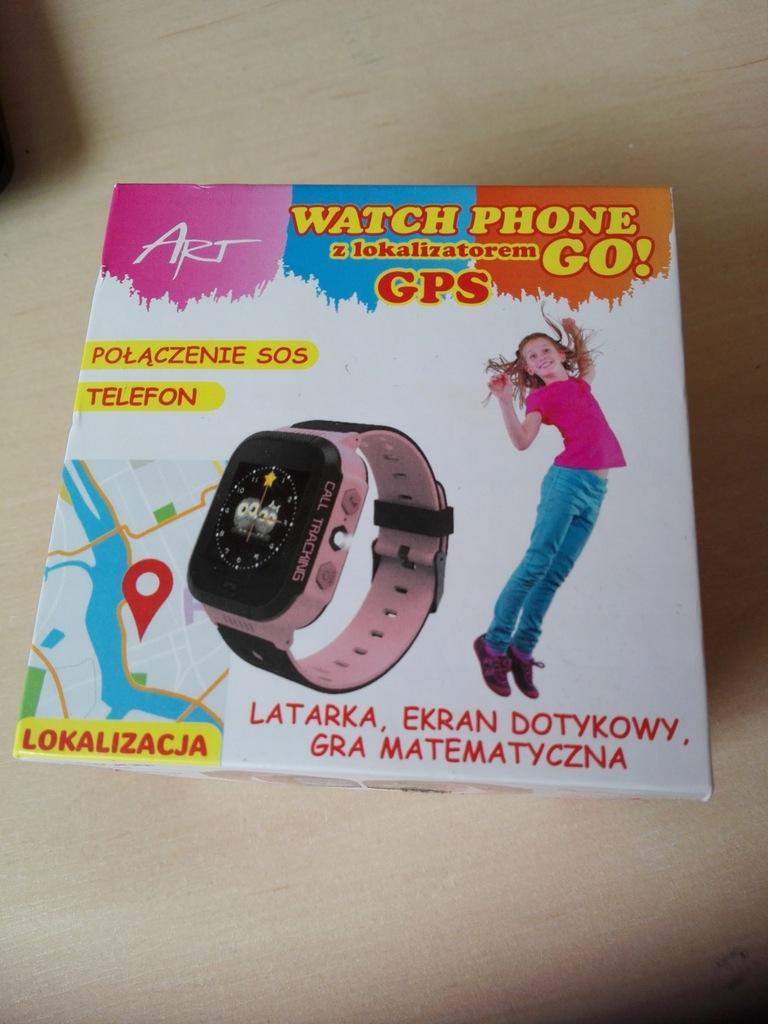 zegarek watch phone GO GPS smartch ART