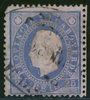 Kolonie port. India 25 reis - Król