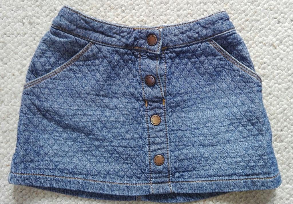 Spódniczka jeansowa Benetton