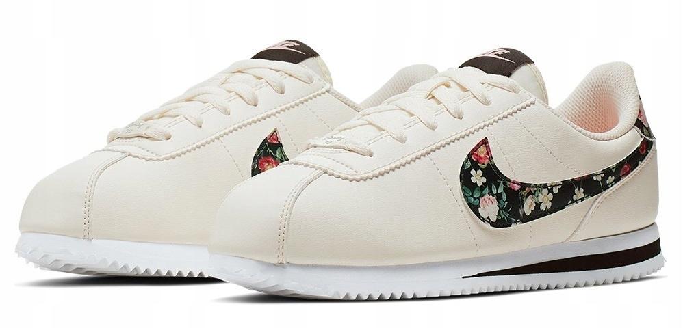 38,5 Buty Damskie Nike Cortez BQ5297 100 Kwiaty Ceny i