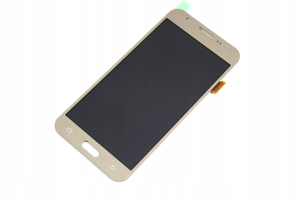 LCD WYŚWIETLACZ DO SAMSUNG J5 J500 2015 NOWY ZŁOTY