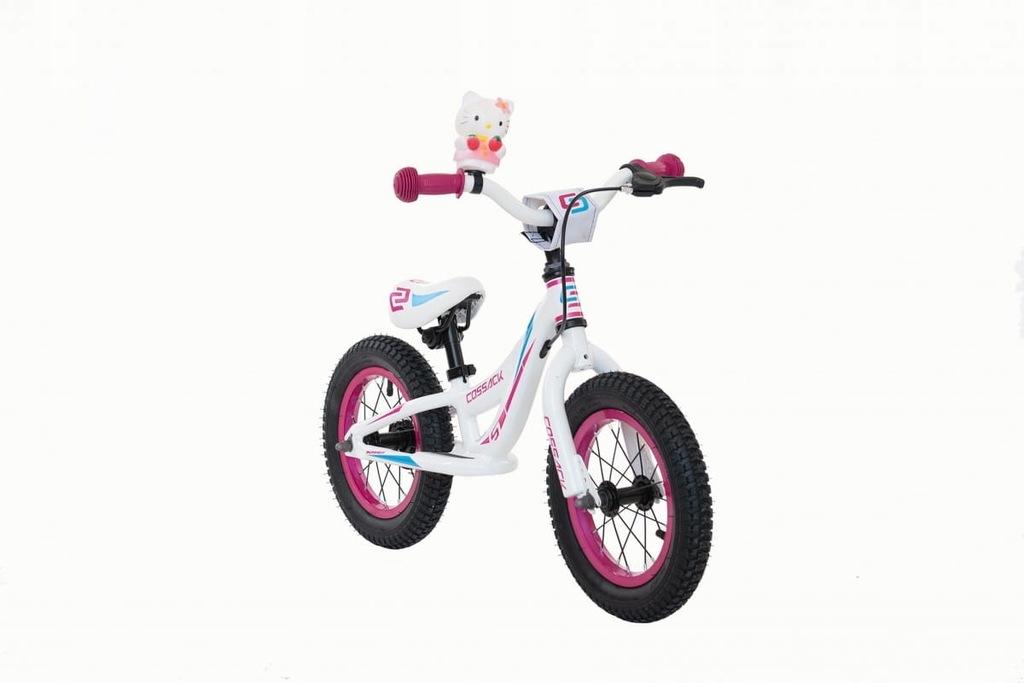 Rower dziecięcy aluminiowy biegowy Cossack Iggi -