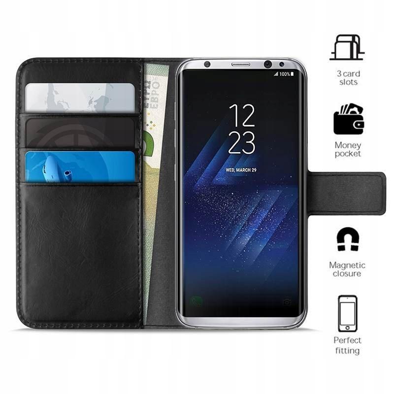 PURO Booklet Wallet Case - Etui Samsung Galaxy S8+