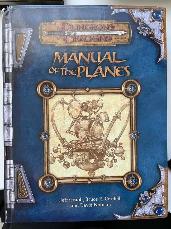 Dungeon & Dragons Manual of the Planes 3e