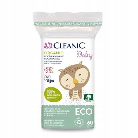 Cleanic Baby Organic Płatki niemowląt dzieci 60szt