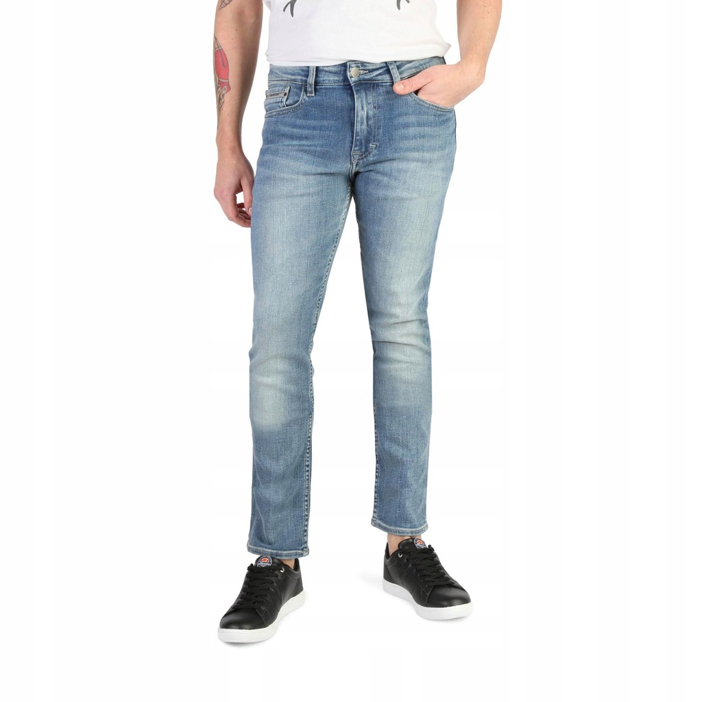 Spodnie męskie dżinsy Calvin Klein-J30J304716_ 28