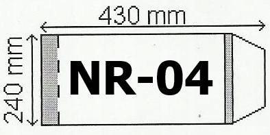 Okładka na podr B5 regulowana nr 4 (50szt) NARNIA