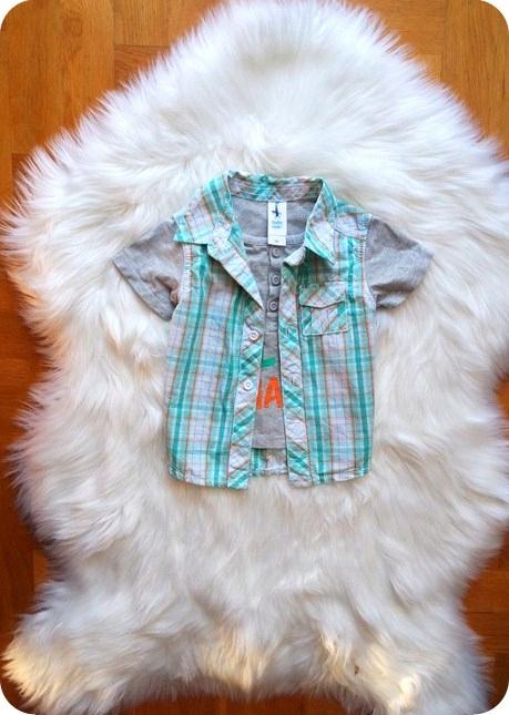 koszula KRATKA bluzka ŚLICZNA modna 68 3-6 M CUDO