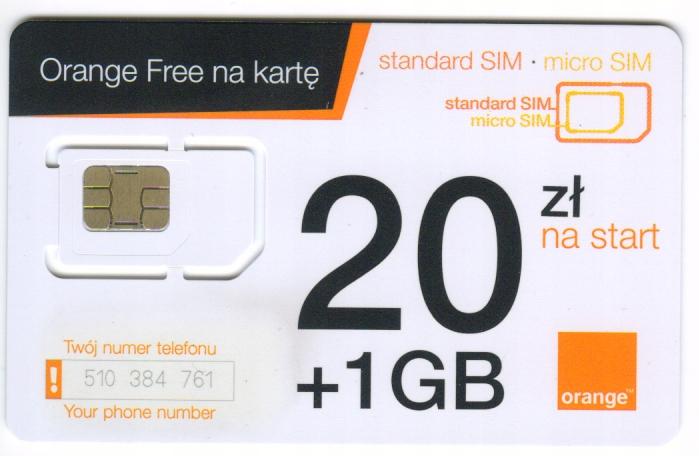 Ramka GSM ORANGE 1