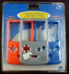 Zestaw 3 x Zewnętrzne Obudowy GBC Game Boy Color
