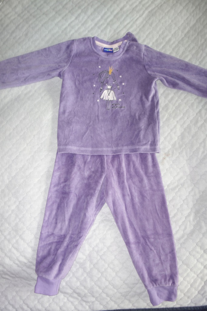 Piżama welurowa, lupilu, 92
