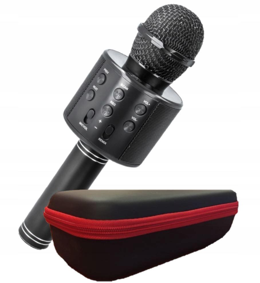 Mikrofon głośnik BT Bluetooth karaoke ZMIANA GŁOSU