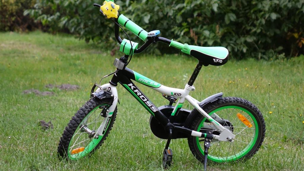 Rower Dla Dziecka Kross 16'' Racer Super Stan !