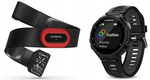 GARMIN FORERUNNER 735XT BUNDLE + czujnik HRM RUN