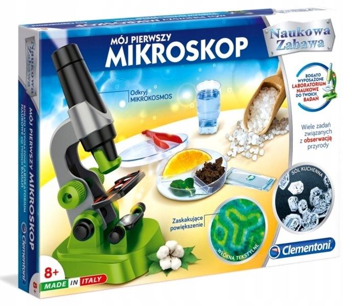 Mikroskop Edukacyjny Clementoni 50071 150 ZOOM