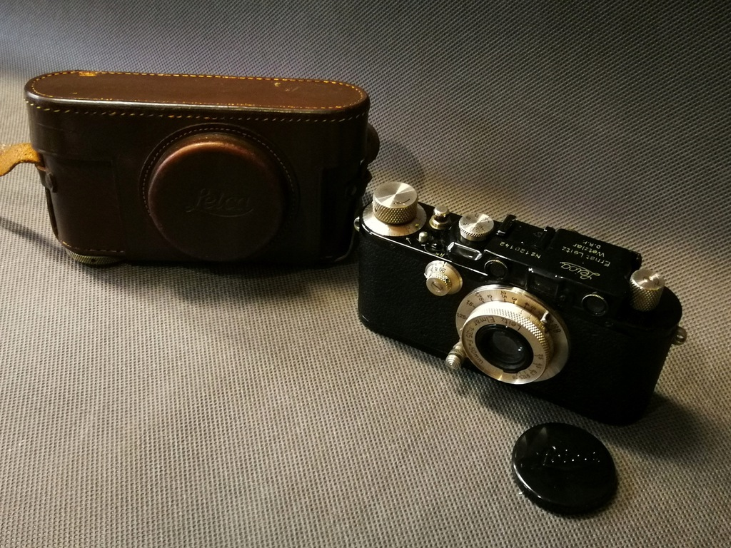 Aparat Leica 1935 rok. III DRP Ernst Leitz Wetzlar