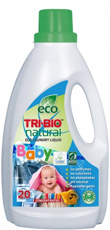 TRI-BIO, Ekologiczny Skoncentrowany Płyn do Prania