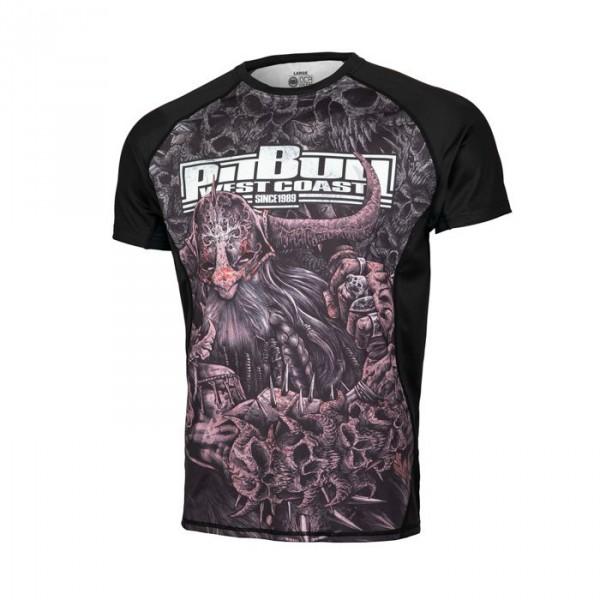 PIT BULL Rashguard Warrior koszulka treningowa r.M