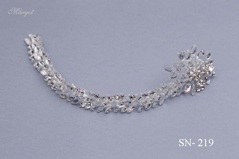 Stroik ślubny SN219 - fryzury ślubnej, głowę