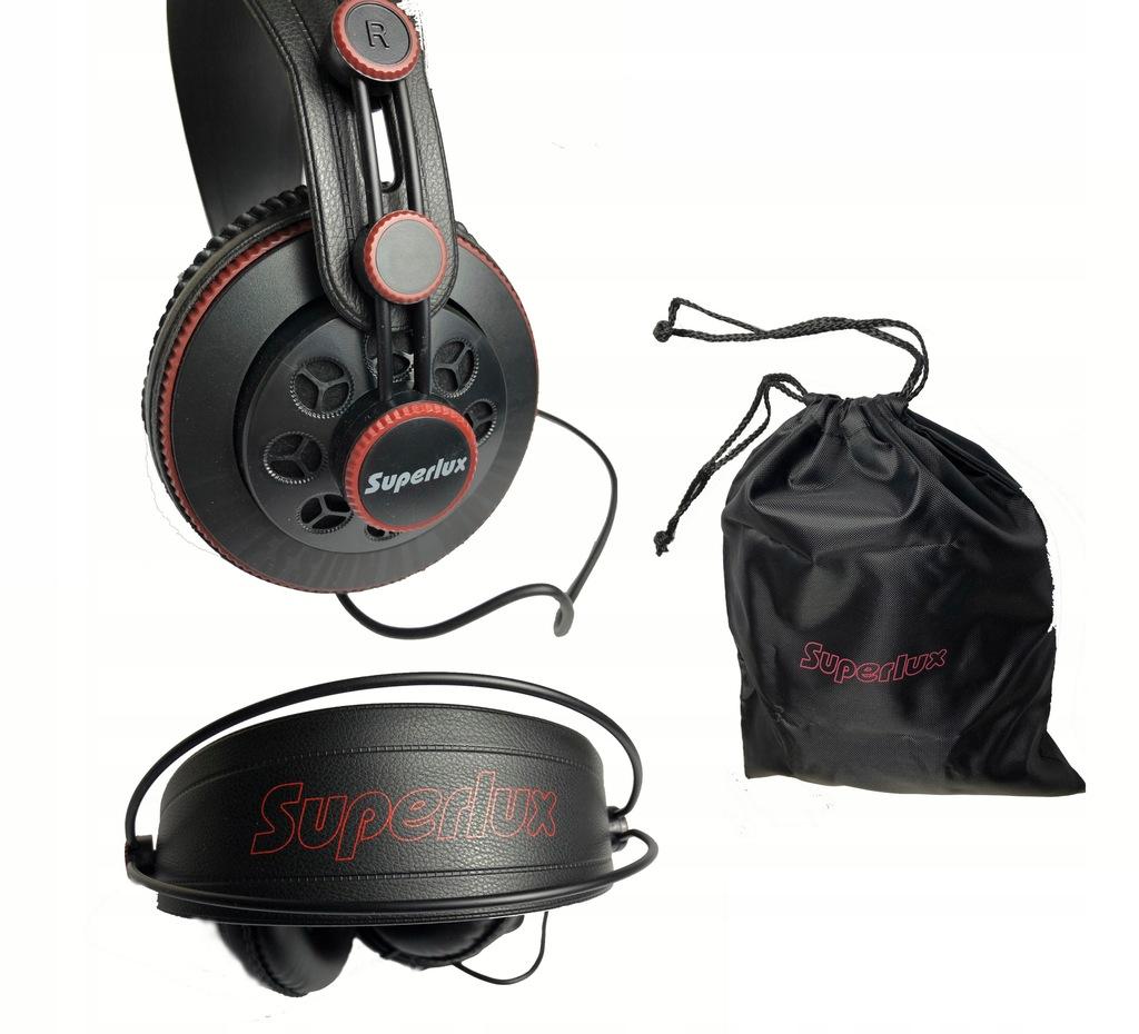 Superlux HD681 Półotwarte słuchawki + pokrowiec
