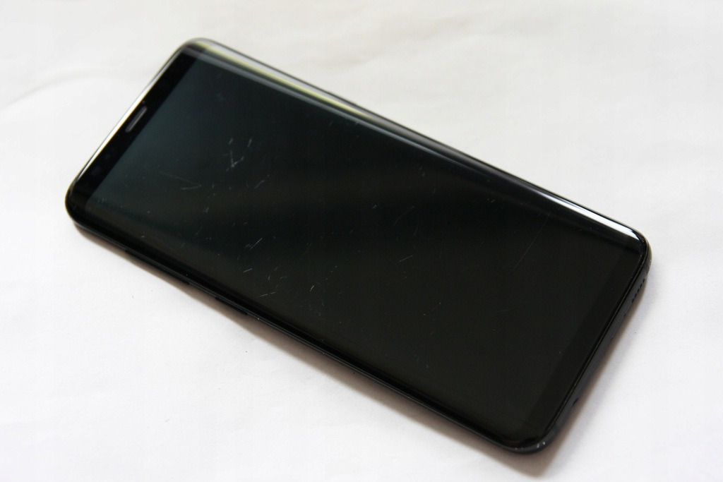 SAMSUNG S8 G950 WYŚWIETLACZ LCD RAMKA ORYG BLACK