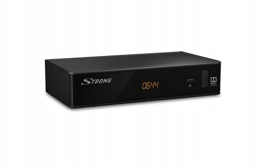 Strong Tuner DVB-T/T2 SRT 8211 czarny