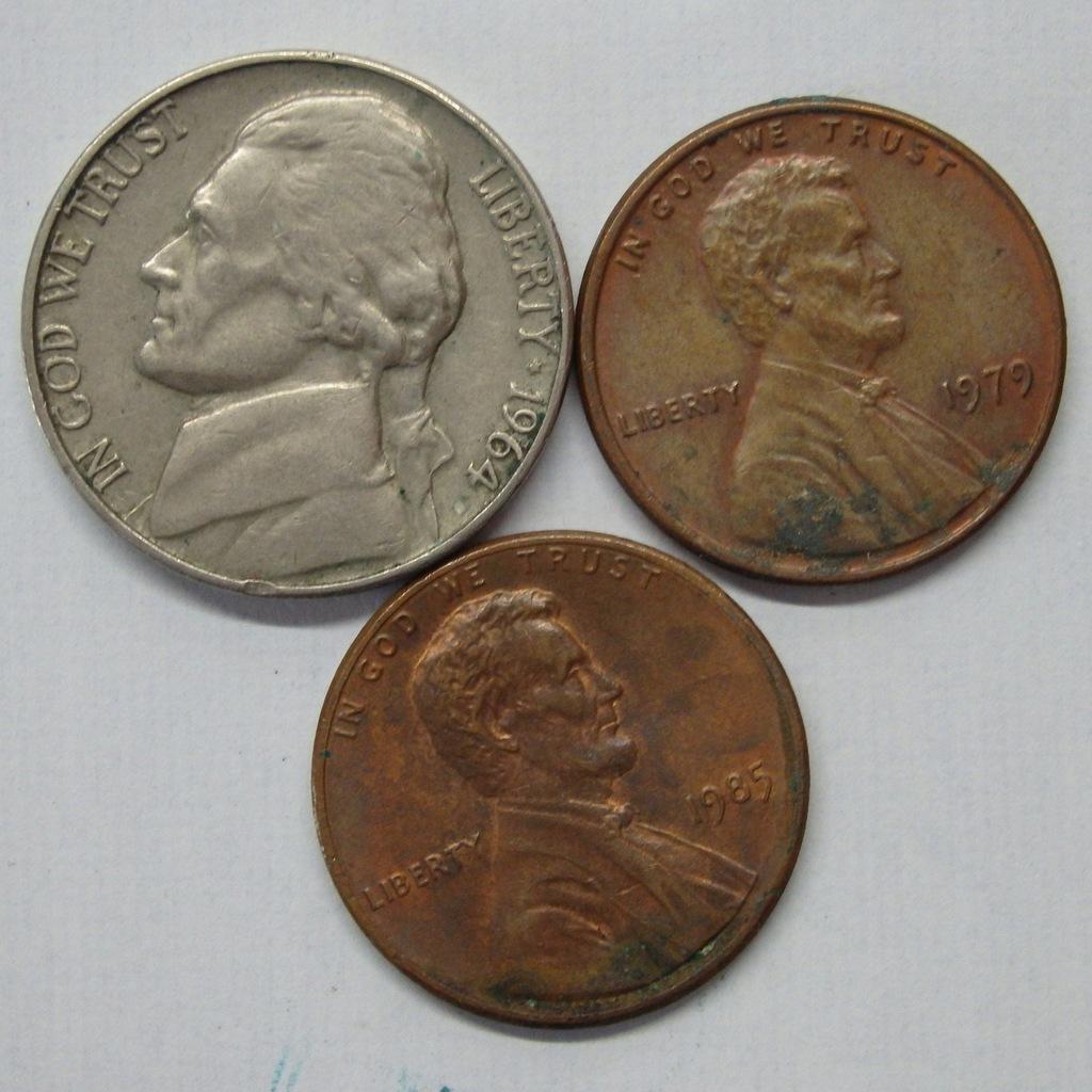 Zestaw monet USA MIX BCM(A1349)