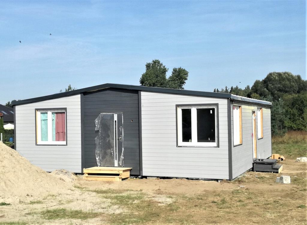 Drewniane domy mieszkalne modułowe 34 i 68m²-95m²