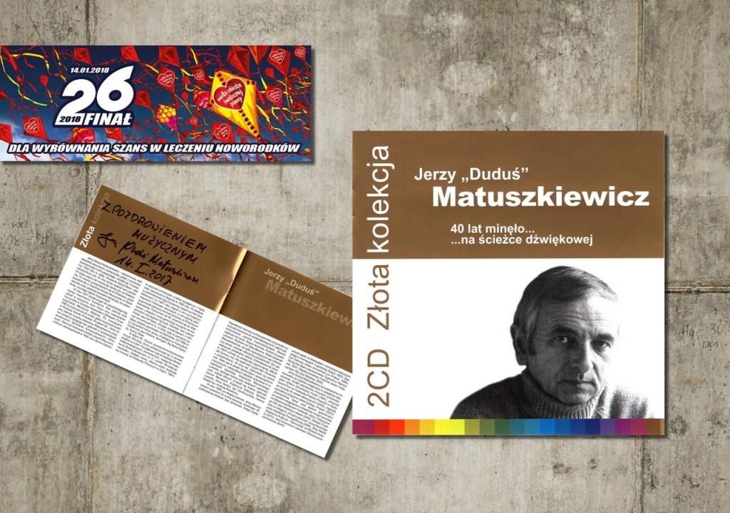 """Jerzy """"Duduś"""" Matuszkiewicz - płyta z dedykacją"""