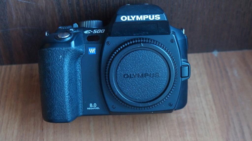 Lustrzanka Olympus E-500