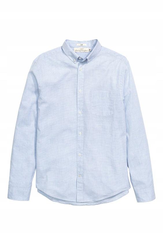H&M Bawełniana koszula Slim fit rozm.M