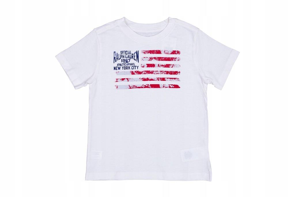 POLO Ralph kids Boys T-shirt Koszulka Logo 6 lat