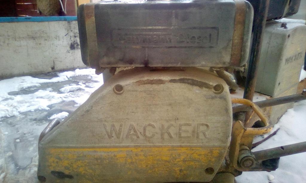 Zagęszczarka WACKER.Silnik diesel farymann