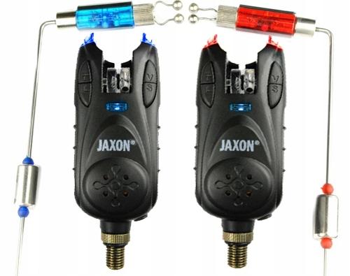 ANGEL-SET 2x Bissanzeiger Angelrutenhalter 2x SWINGER LED JAXON S107